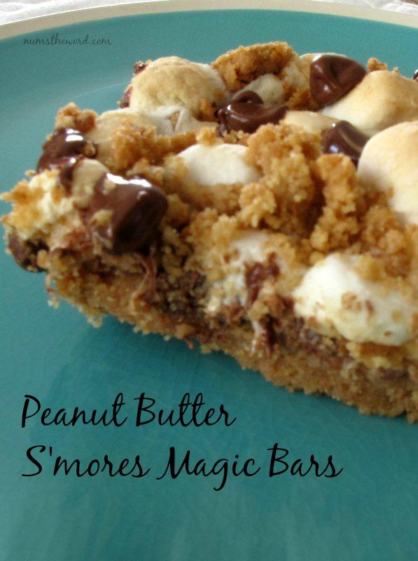 Peanut Butter S'mores Magic Bars