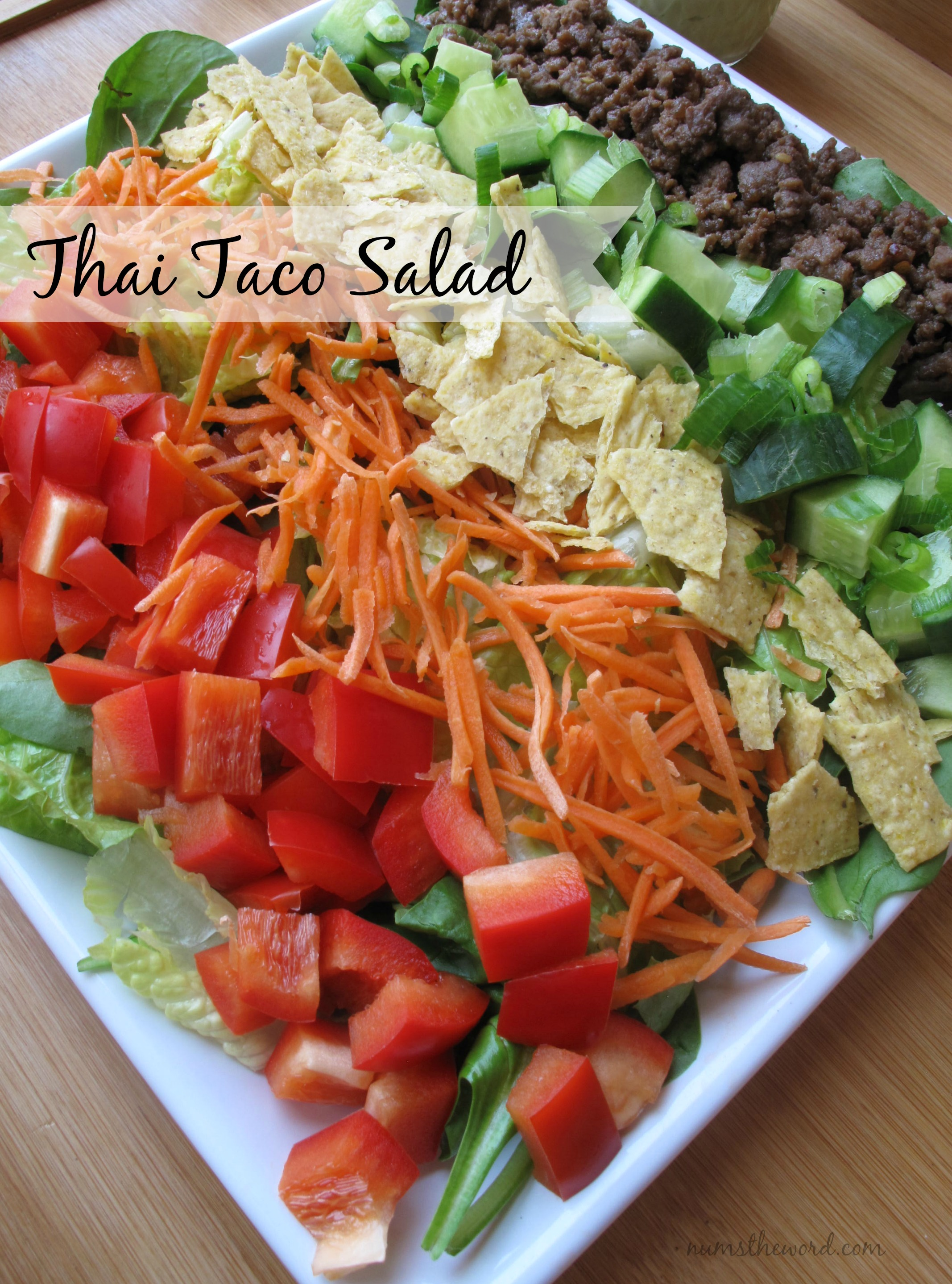 Thai Taco Salad