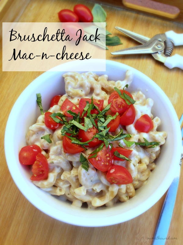 Bruschetta Jack Mac-n-cheese