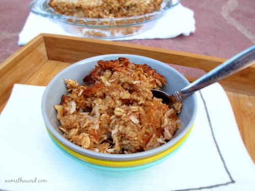 Coconut Baked Oatmeal