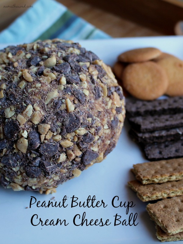 Peanut Butter Cup Cream Cheese Ball
