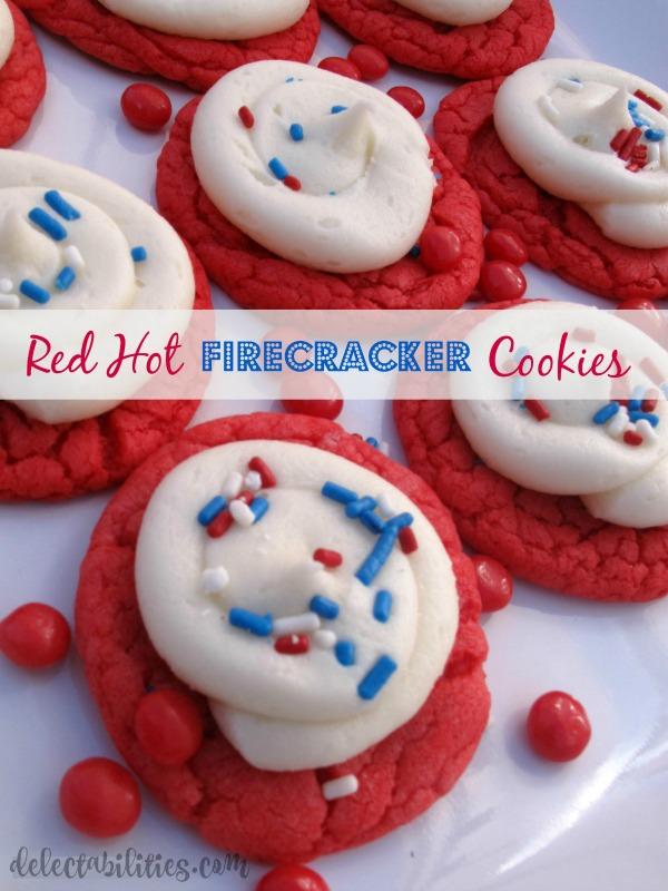 Red Hot Firecracker Cookies