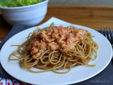 Creamy Italian Chicken Pasta