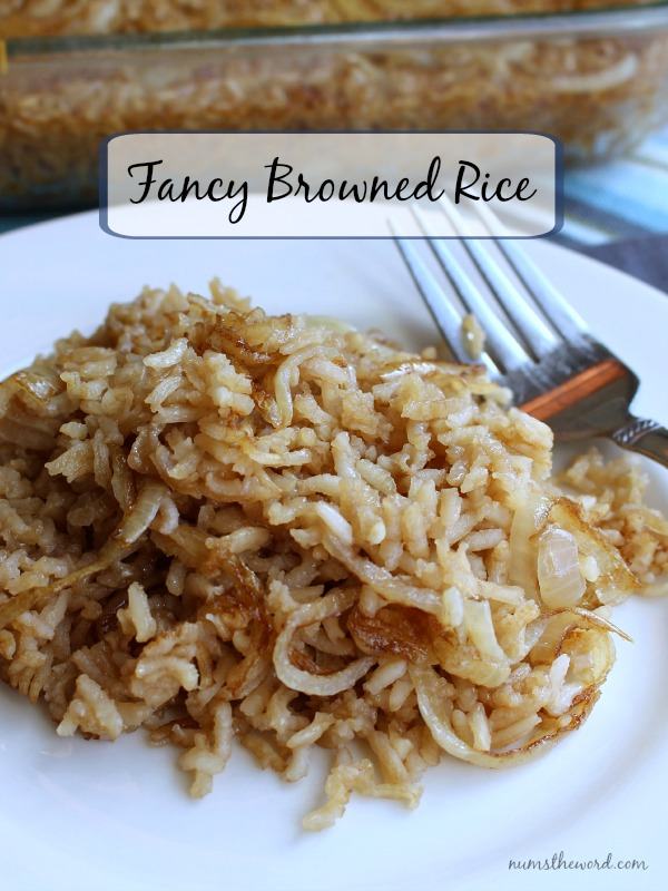 Fancy Browned Rice