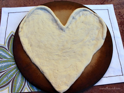 Heart Pizza Dough