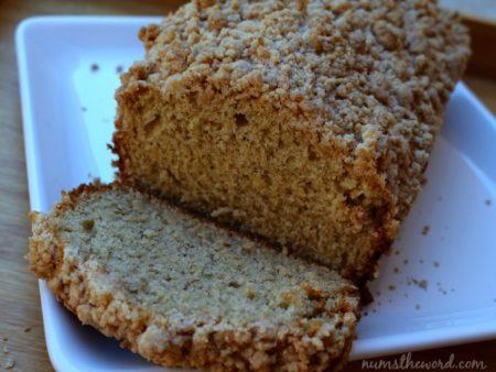 Cinnamon Streusel Banana Bread