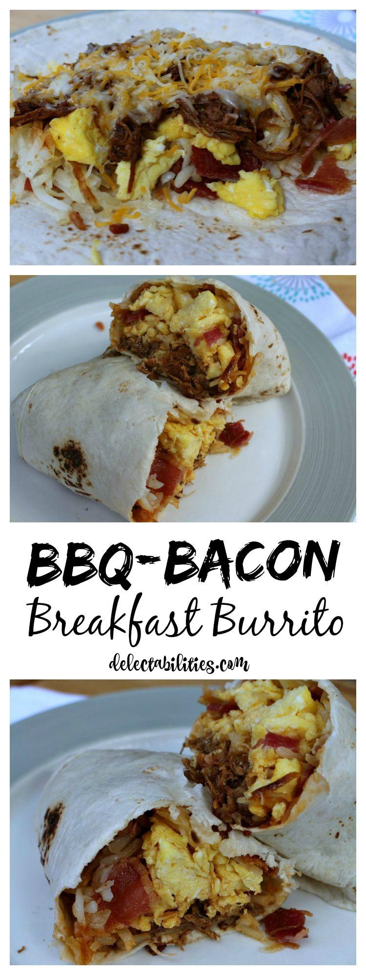 BBQ Bacon Burrito